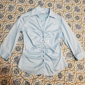 Top Button down shirt New york company
